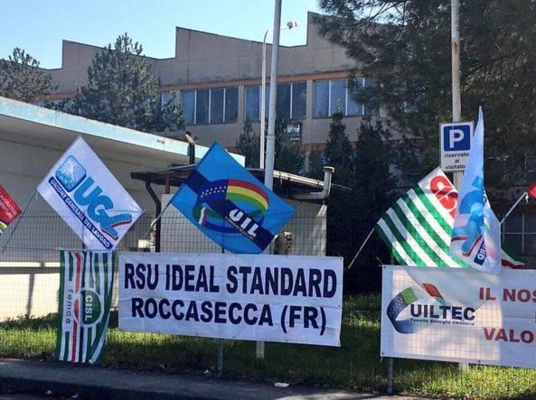 Ideal Standard Roccasecca.Ideal Standard Di Roccasecca In Crisi Rischiano Il Lavoro