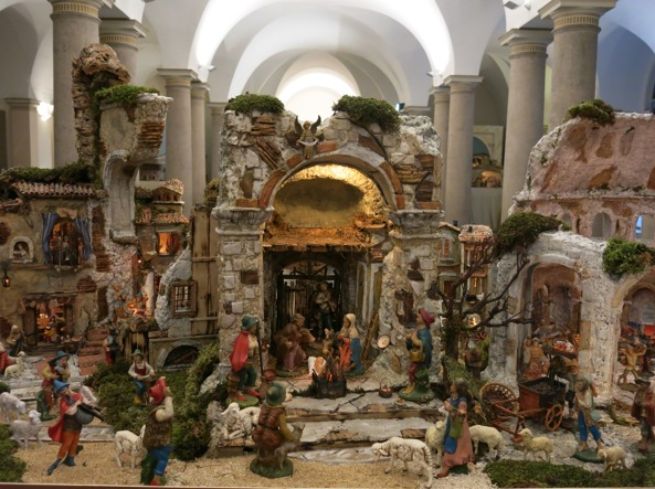 ecco i presepi di roma la tradizione pi amata del natale