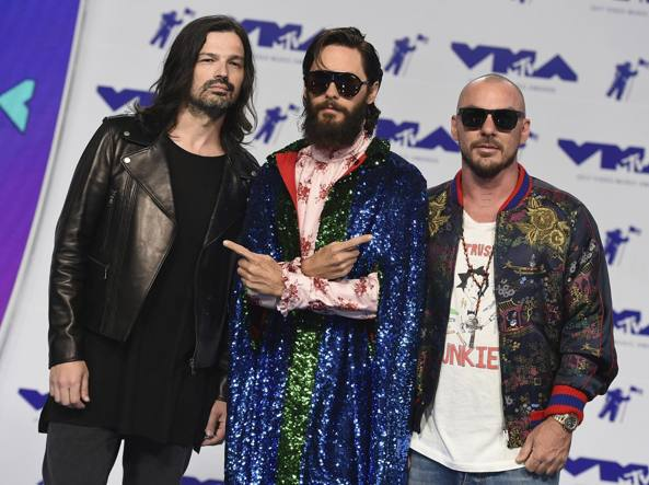 I Thirty Seconds To Mars (foto Ap)