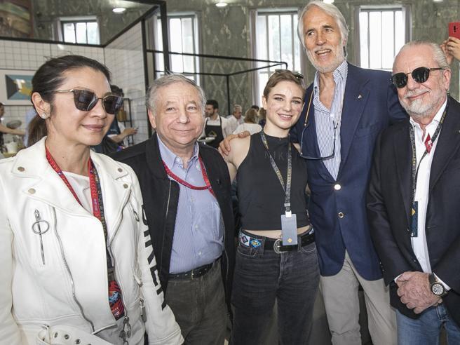 Formula E a Roma, tra i vip anche Sarah Ferguson e Di Maio con la fidanzata Giovanna