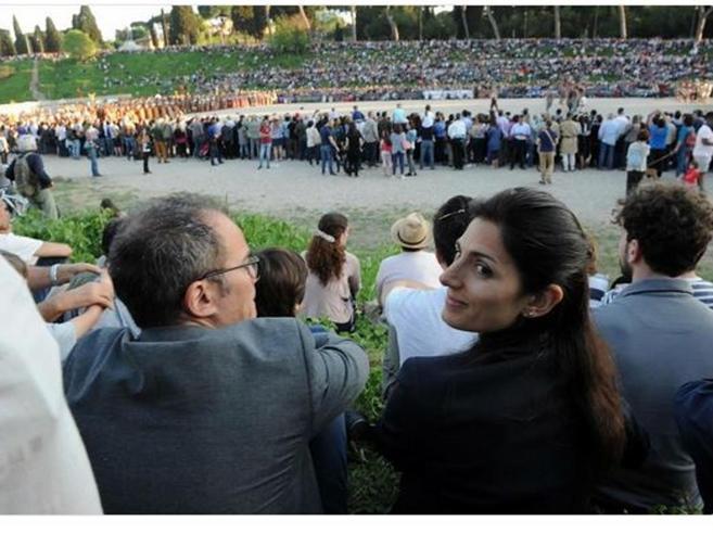 Roma, Virginia Raggi e l'ex marito Andrea Severini di nuovo insieme?