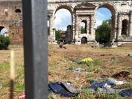 Roma: Porta Maggiore, discarica a cielo aperto