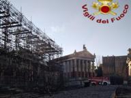 Roma, Cinecittà: incendio negli studios Niente feriti, danni alle scenografie