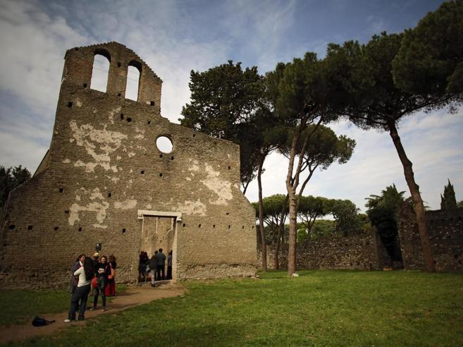 Appia Antica, la cantina del III secolo  «Pochi fondi, peccato»