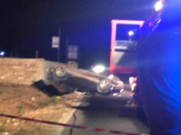 L'incidente in via dei Frati a Nettuno in cui ha perso la vita la piccola Nicole