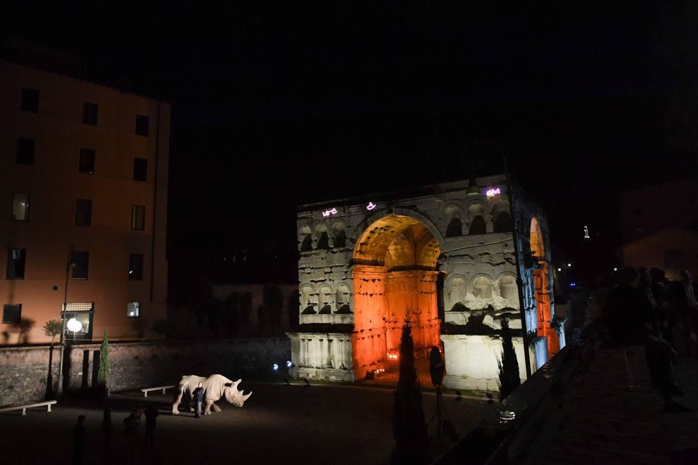 Roma Alda Fendi Apre Le Porte Di Palazzo Rhinoceros