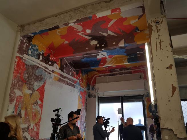 Arte, ritrovato il «Bal Tic Tac» 80 metri quadri dipinti da Balla