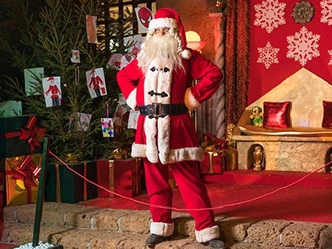 Babbo Natale 8 Dicembre Roma.Babbo Natale Vi Aspetta Nel Fantastico Castello Di Lunghezza