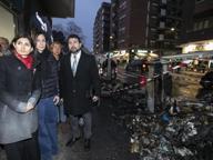 Tiburtino, rogo di cassonetti sotto casa della presidente IV MunicipioRaggi: intimidazione, andiamo avanti