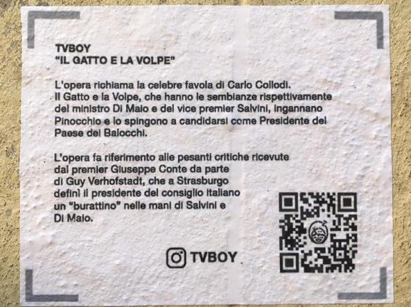 Conte pinocchio salvini e di maio il gatto e la volpe for Ufficio decoro urbano roma