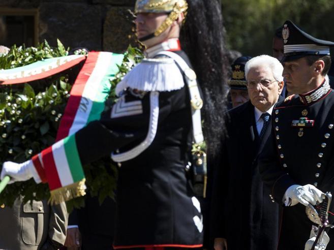Fosse Ardeatine,  Casellati: «Estirpare violenza per sempre»