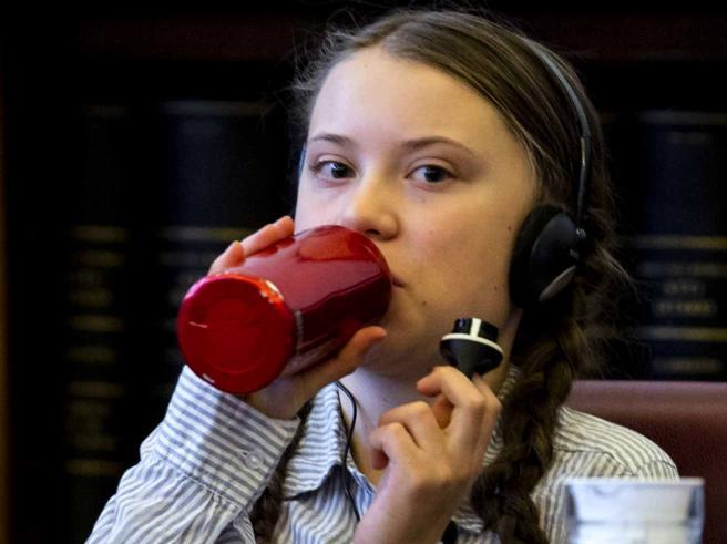 Greta in Senato: «Voi potenti non ci ascoltate, date false speranze»