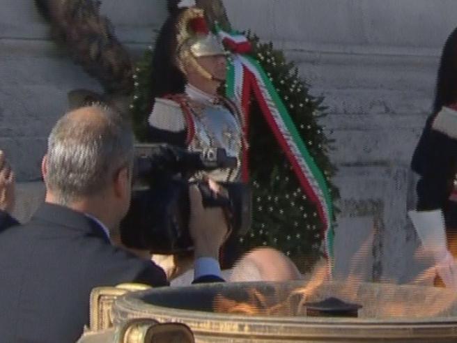 25 Aprile, Mattarella a Vittorio Veneto: «Fu il ritorno alla libertà»