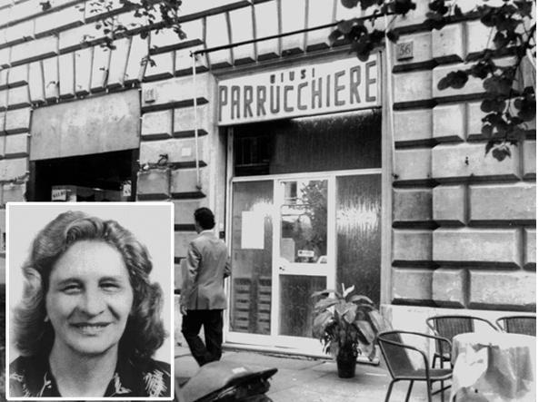 Giusi Nicoloso, la parrucchiera settantenne uccisa l'11 febbraio 1995 in via Cola di Rienzo