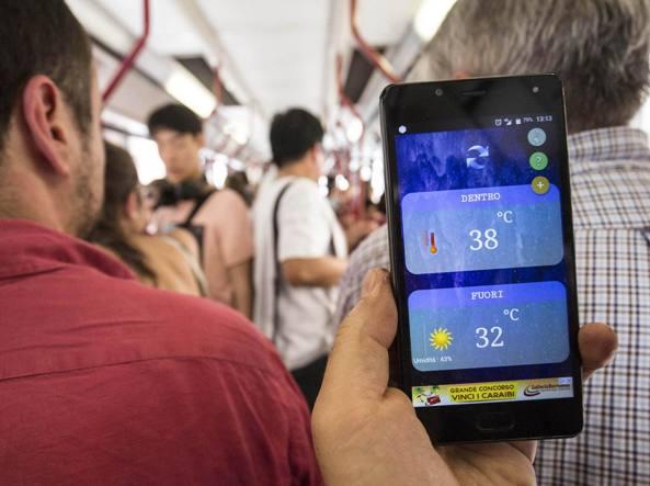 Da Termini a San Pietro sull'autobus 40 Express con 38 gradi a bordo