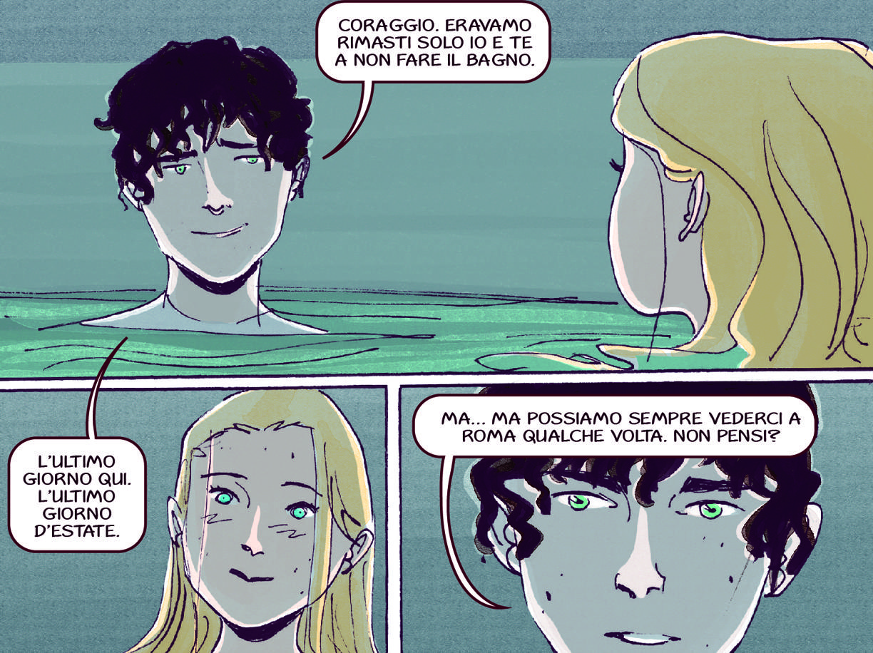 La graphic novel «Diana, 1999»: due sorelle nella Roma di fine millennio