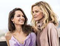 Angelina Jolie e Michelle Pfeiffer a Roma per l'anteprima europea di «Maleficient - Signora del male»