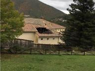 Maltempo, crolla il tetto della foresteria della Certosa di Trisulti