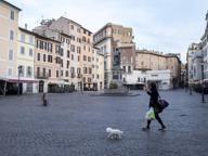 Roma, Campo de' Fiori: incendio in un palazzo, evacuate 4 famiglie