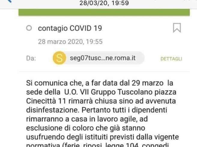 Agenti contagiati e ricoverati, chiusi due comandi dei vigili a Roma