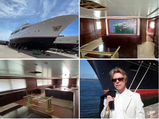 Lo yacht di David Bowie restaurato nei cantieri di Ostia. Ora è di un imprenditore romano