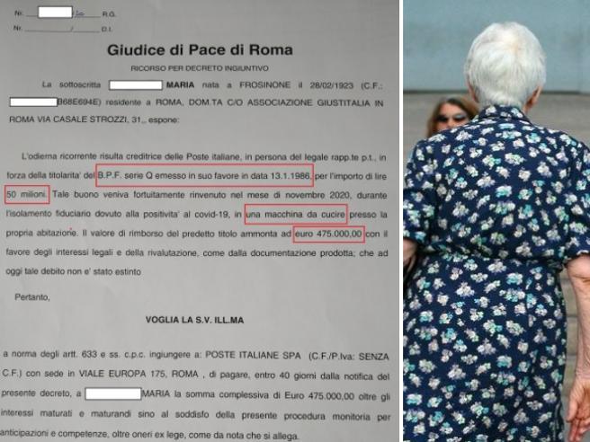 Roma, a 98 anni sconfigge il Covid e diventa ricca: in casa trova un buono postale da 475 mila euro