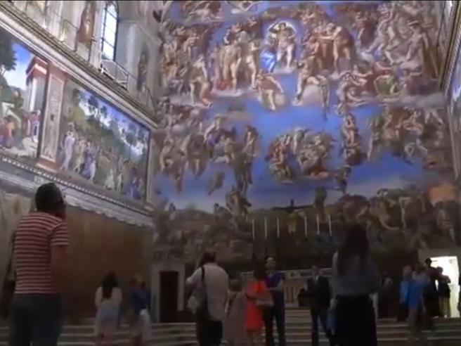 Musei Vaticani, un video tour trala  Sistina e le Stanze di Raffaello