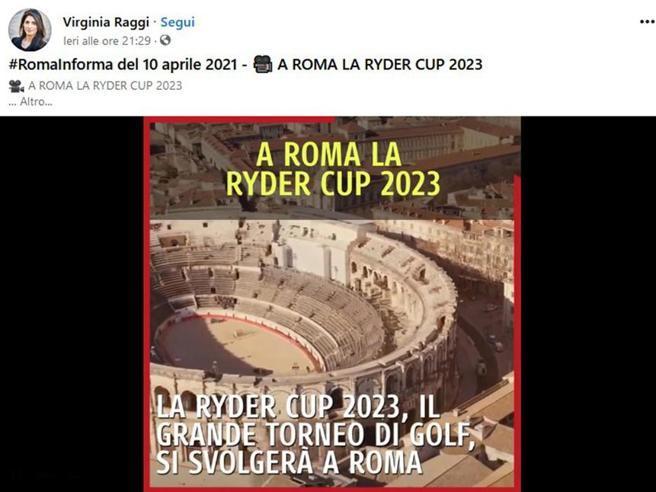 L'arena di Nîmes al posto del Colosseo: l'errore nel video pubblicato dalla sindaca Raggi