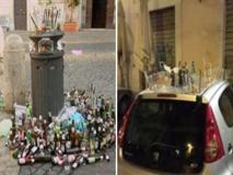 Petizione contro l'alcol consumato in strada con video shock: cumuli di bottiglie, passanti che urinano