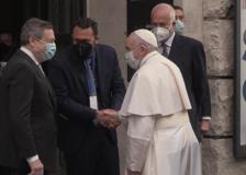 Stati generali della natalità, l'arrivo di Papa Francesco e del presidente Draghi
