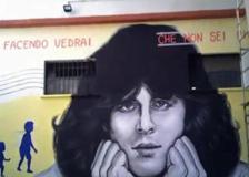 Roma, Baglioni compie 70 anni: a Centocelle il murale di Maupal