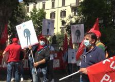 Roma, polizia penitenziaria in protesta sotto il ministero della Giustizia
