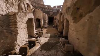 Colosseo, il nuovo percorso degli Ipogei apre per la prima volta al pubblico