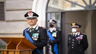 Cambio al vertice della Legione carabinieri Lazio: arriva Antonio de Vita. Alla cerimonia la vedova Cerciello