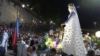 La Madonna Fiumarola sfila sul Tevere per la Festa de' Noantri