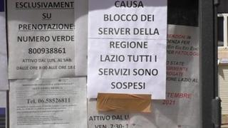 Attacco hacker Regione Lazio: non solo vaccini, servizi sospesi nei presidi sanitari