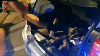 Colle del Sole, 50 chili di cocaina sequestrati dalla polizia: