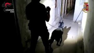 Panetti di hashish e dosi di cocaina: il blitz anti droga a Tor Bella Monaca