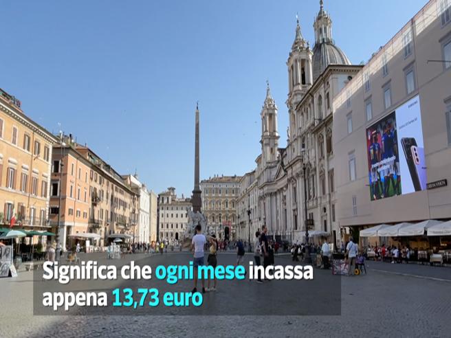 Il bilocale in piazza Navona a 13 € al mese e la signora che dal 1978 non paga niente. Gli incredibili affitti del comune di Roma