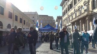 Roma, Ugl in piazza per Ita: «Disatteso il contratto nazionale»