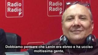 Politanò sulla radio che ha lanciato Michetti: «L'Olocausto? Responsabili gli stessi ebrei»
