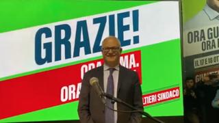 «Oh Gualtieri sindaco di Roma», il coro dei supporter al comitato
