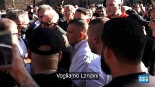 Scontri Cgil, il video delle richieste di Castellino alla polizia prima del corteo: «Vogliamo Landini»