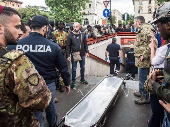 Incidente metro Roma, donna muore incastrata sotto un convoglio ...